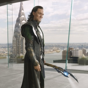Whilst the scepter makes an appearance in the new film, I find the lack of Tom Hiddleston disturbing.